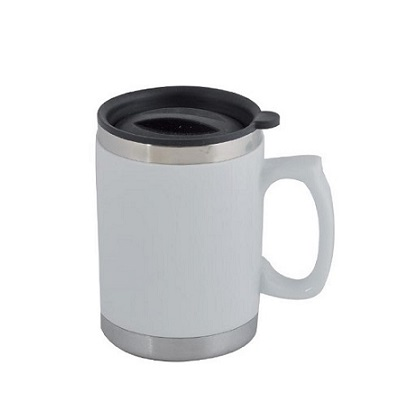 MT-033-Ceramic-Stainlee-Steel-Coffee-Mug-White