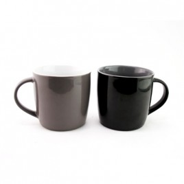Dual Colour Ceramic Mug