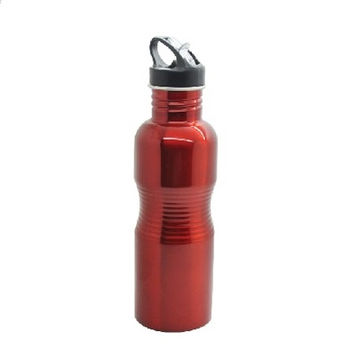BO-054-Stainless-Steel-Big-Rib-Bottle-Red