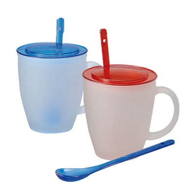MU-096-Frrosted-Glass-Mug-with-Spoon