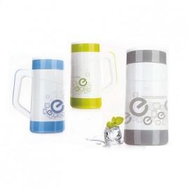 Glass Water Mug with Handle
