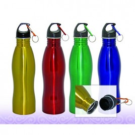 Stainless Steel Shapy Bottle 1L