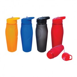 Frosted Plastic Bottle 600ml