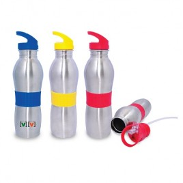Stainless Steel Bottle with Straw