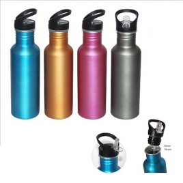 Metallic Color Aluminium bottle