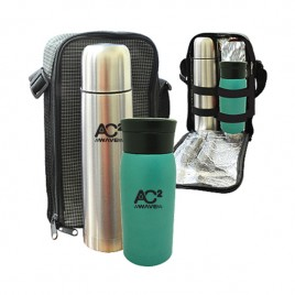 Travelling Thermo Flask & Rocket Mug