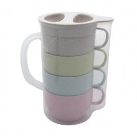 Eco Jug with Coffee Mug