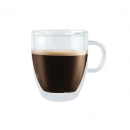 Bistro Double Wall Thermo Mug Glass