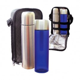 Travelling Thermo Flask & Luna Bottle