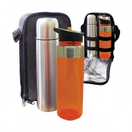 Travelling Thermo Flask & Zina Bottle